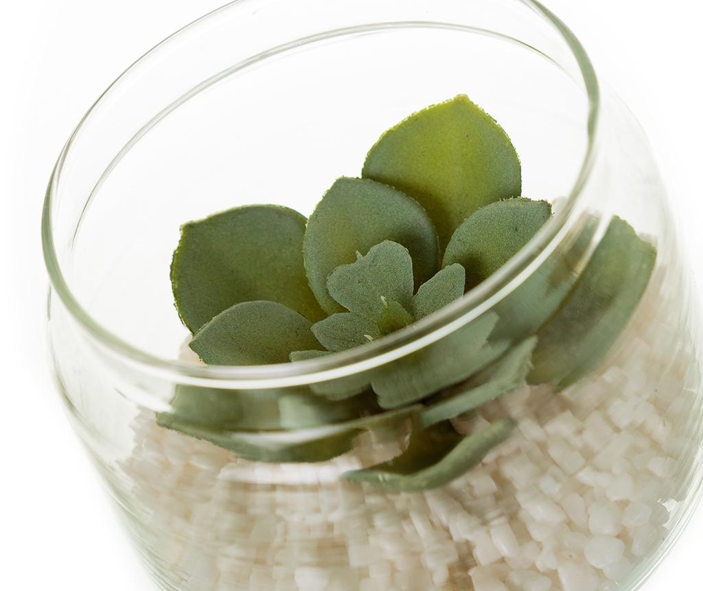 Set 3 umjetne biljke u posudi Minimalist