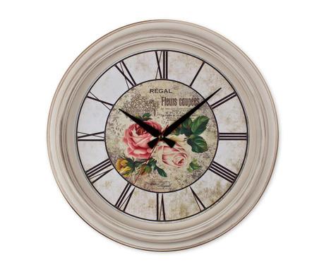 Nástěnné hodiny Fleurs Coupees