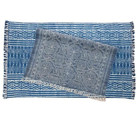 Χαλί Tipro Blue Lines 120x180 cm