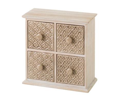 Pudełko z 4 szufladkami Donna