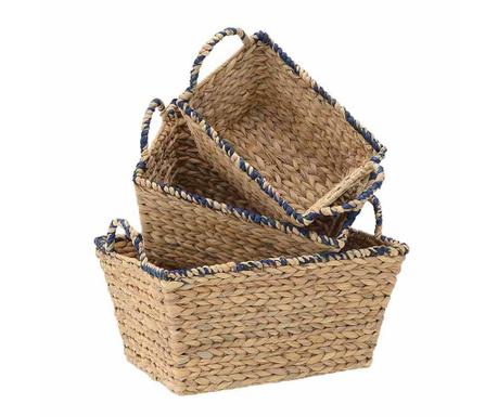 Комплект 3 коша Basket