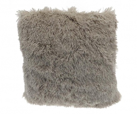 Ukrasni jastuk Long Fur Soft Touch Taupe 40x40 cm