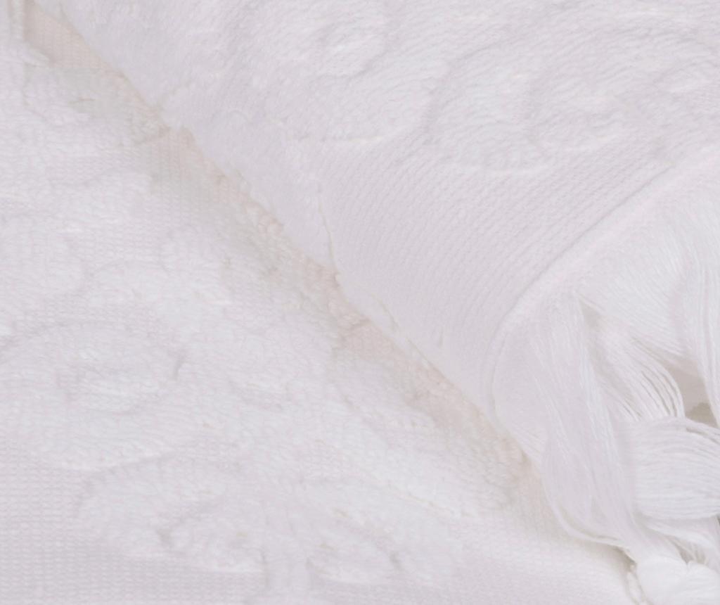 Set 2 kopalniških brisač Baglamali Kilim White 50x90 cm