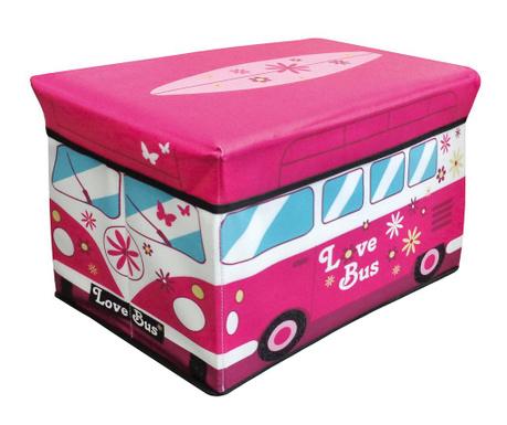 Shranjevalna škatla s pokrovom Camper Van