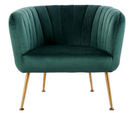 Fotel Rialta Dark Green