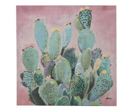 Tablou Cactuses 80x80 cm