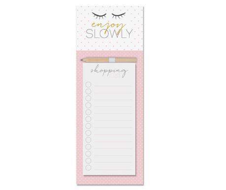 Carnetel pentru notite Enjoy Pink