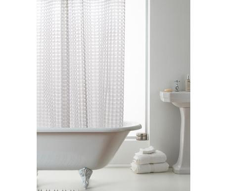 Sprchový závěs Effect 3D Clear 180x180 cm