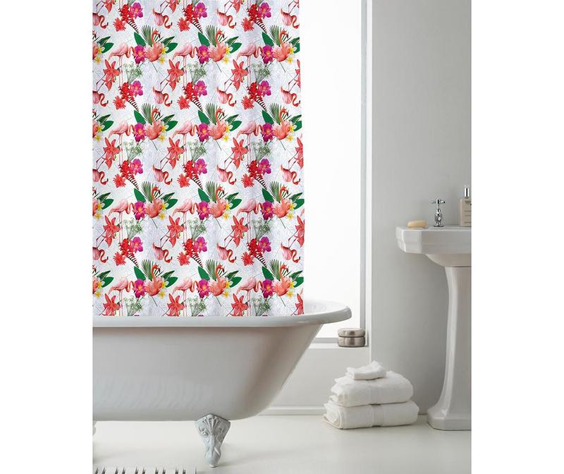 Zavjesa za tuš Flamingo 180x180 cm