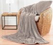 Okrasna blazina Chevron Fleece Cream 55x55 cm
