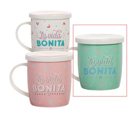 Чаша с капак и инфузер Bonita Green