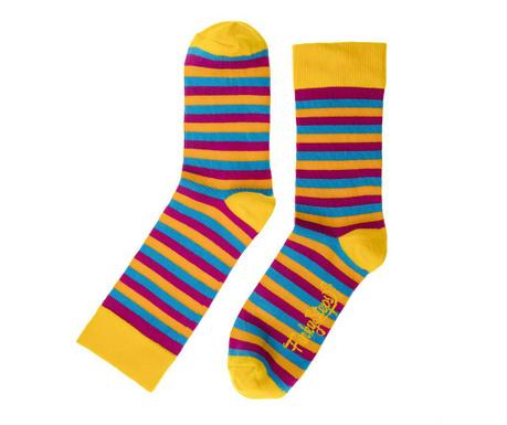 Skarpety damskie Rainbow Stripes 35-39