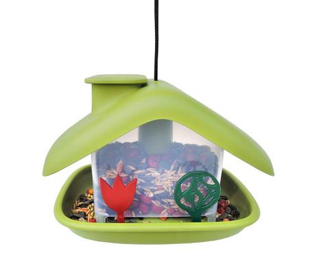 Hranilica za ptice Domek Green