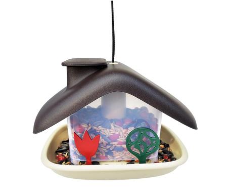 Hranilica za ptice Domek Brown
