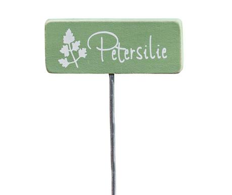 Oznaka za rastline Petersilie