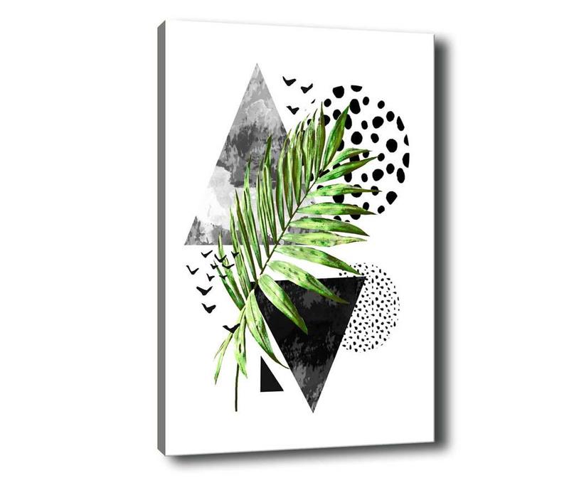 Leaf Collage Kép 50x70 cm