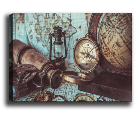 Tablou Compass 50x70 cm