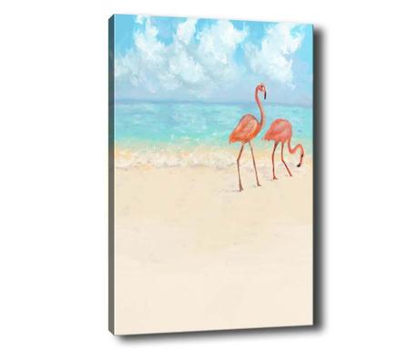 Tablou Flamingo 50x70 cm