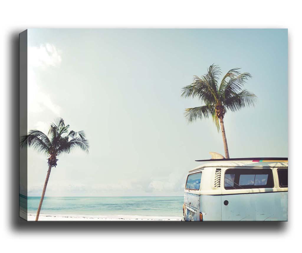 Van by the Beach Kép 50x70 cm