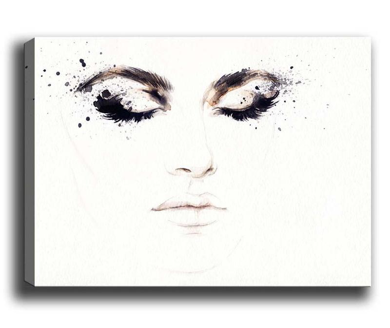 Tablou Eyelashes 50x70 cm
