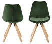 Set 2 stolice Dima Soft Forest Green