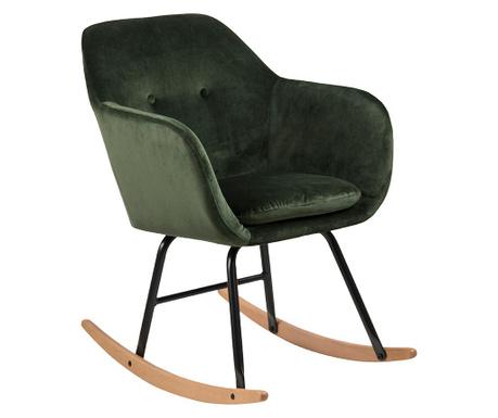 Stolica za ljuljanje Emilia Forest Green