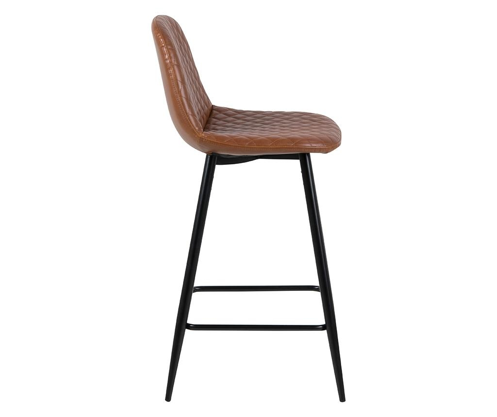 Sada 2 barových židlí Wilma Mini Vintage Brandy