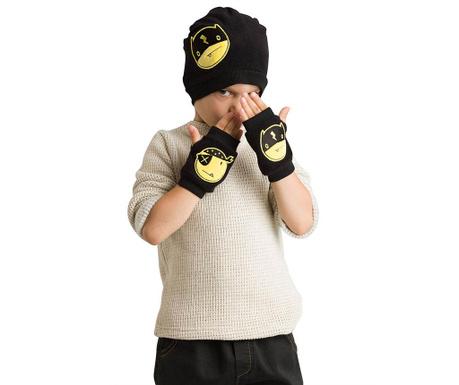 Sada čiapka a rukavice pre deti Emoji