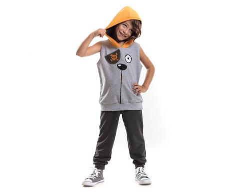 Otroški komplet - majica brez rokavov in hlače Pirate 3 let