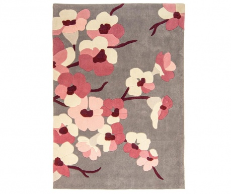 Tepih Blossom Charcoal Pink 120x170 cm