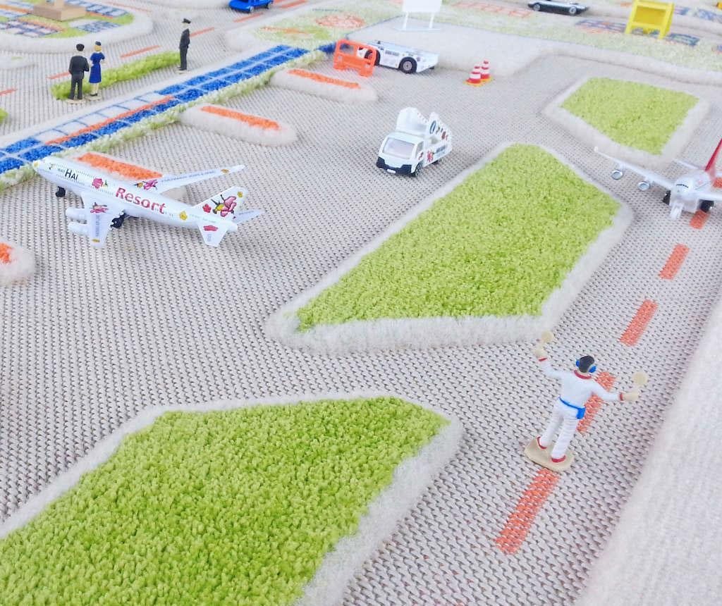 Little City Middle 3D Játszószőnyeg 100x150 cm