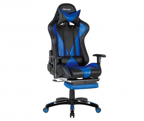 Scaun de birou Gamer Suzuka Black and Blue