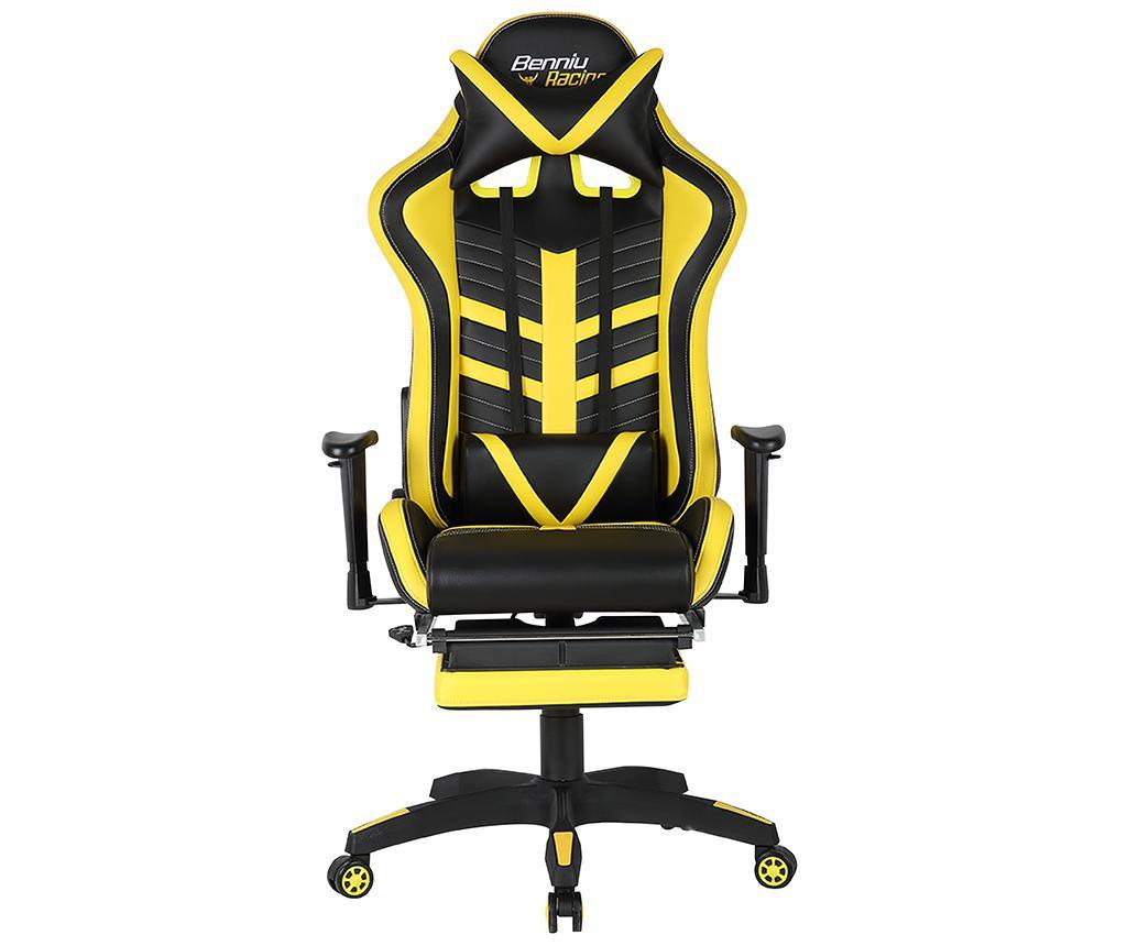 Scaun de birou Gamer Racing Back and Yellow