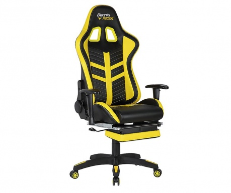 Scaun de birou Gamer Racing Back and Yellow