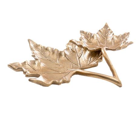 Dekorační podnos Leaf Gold