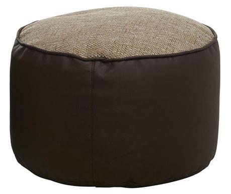 Puf Minadra Round Beige  Brown