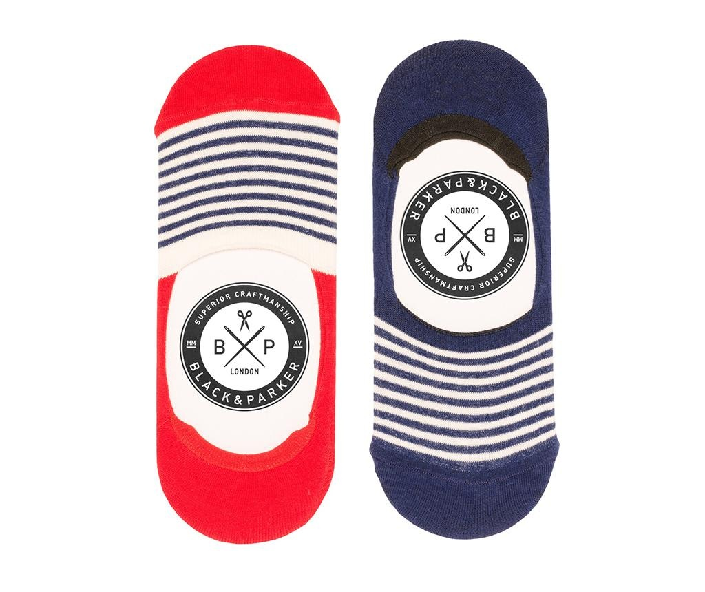 Fareham 2 pár Unisex zokni 37-43