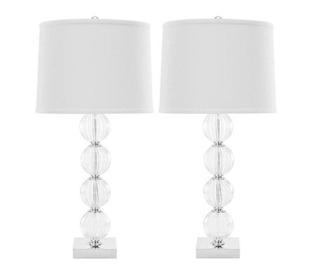 Sada 2 lampy Euna