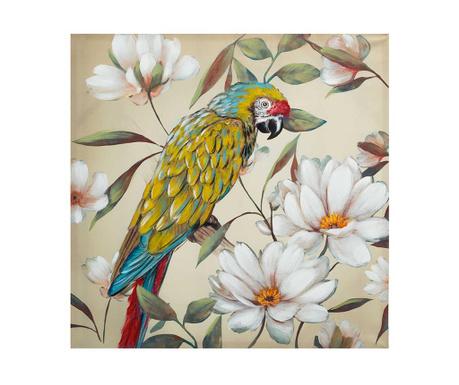 Tablou Parrot 100x100 cm
