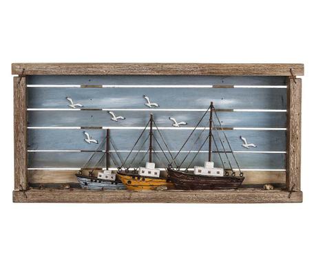 Boats Fali dekoráció