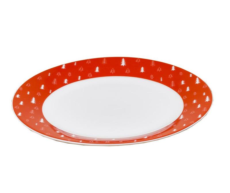 Ingmar Red Desszertes tányér