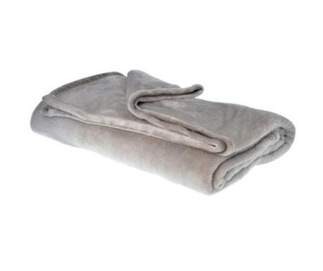 Priročna odeja Soft Grey 150x200 cm
