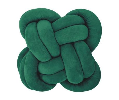 Okrasna blazina Knot Green 30x30 cm