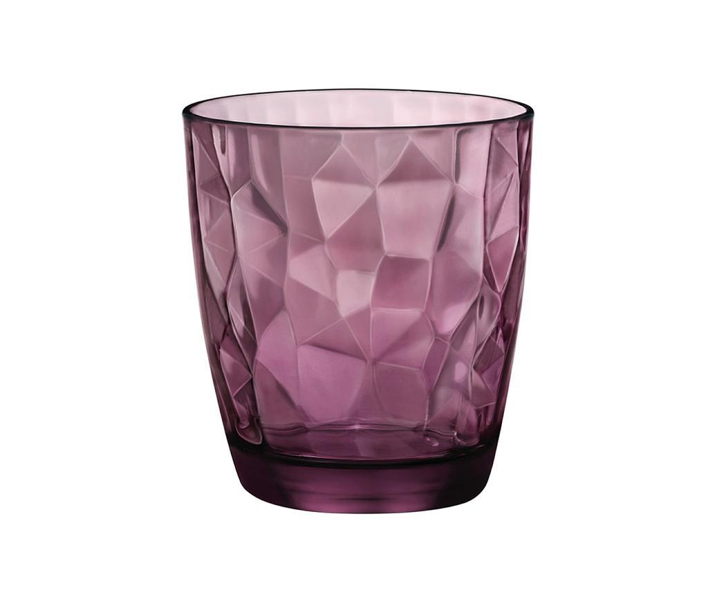 Čaša Diamond Purple 390 ml