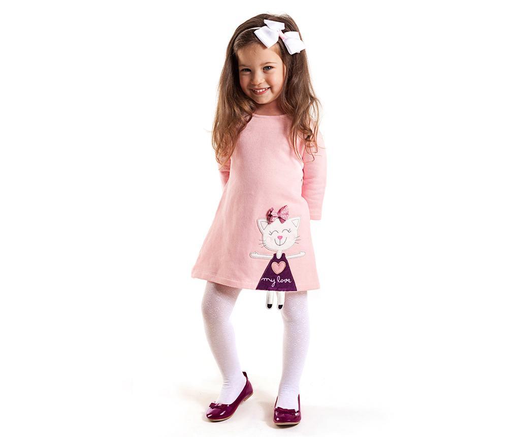 Rochie Cat Pink 8 years