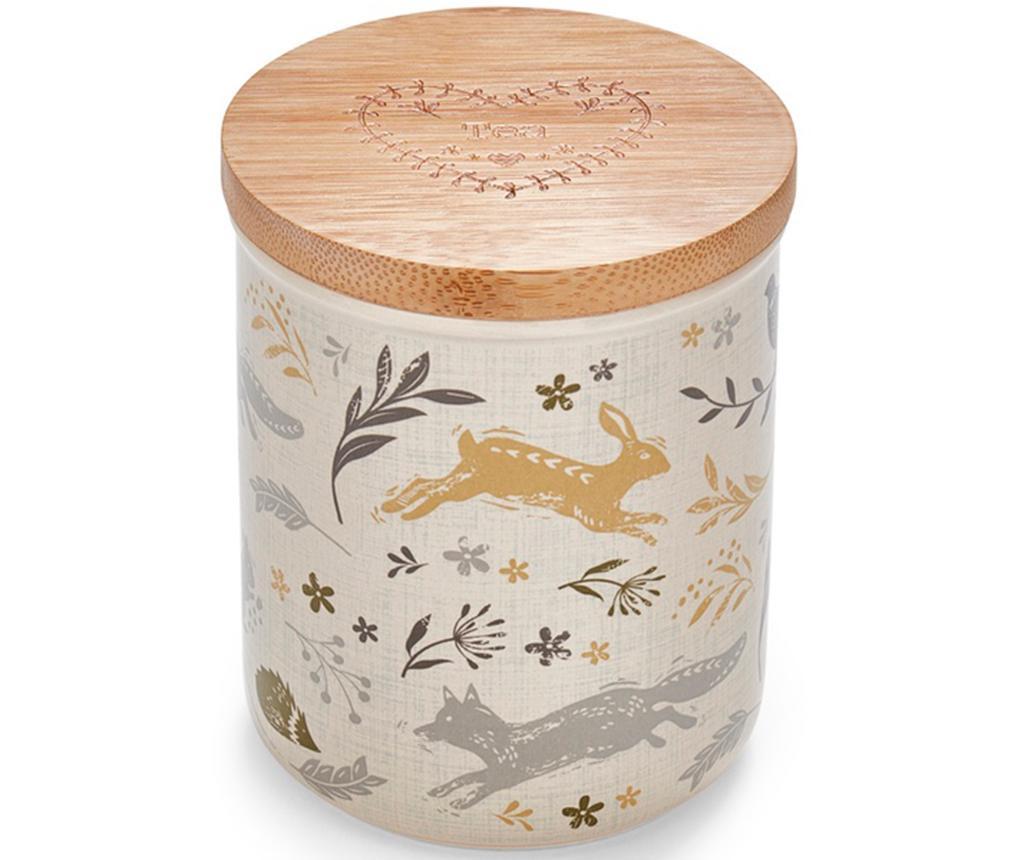 Recipient cu capac pentru ceai Woodland