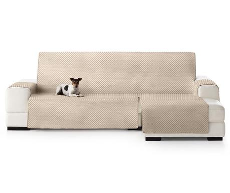 Καπιτονέ κάλυμμα δεξιού γωνιακού καναπέ Oslo Beige