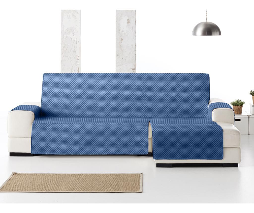 Prošivena navlaka za desnu kutnu garnituru Oslo Blue 290 cm