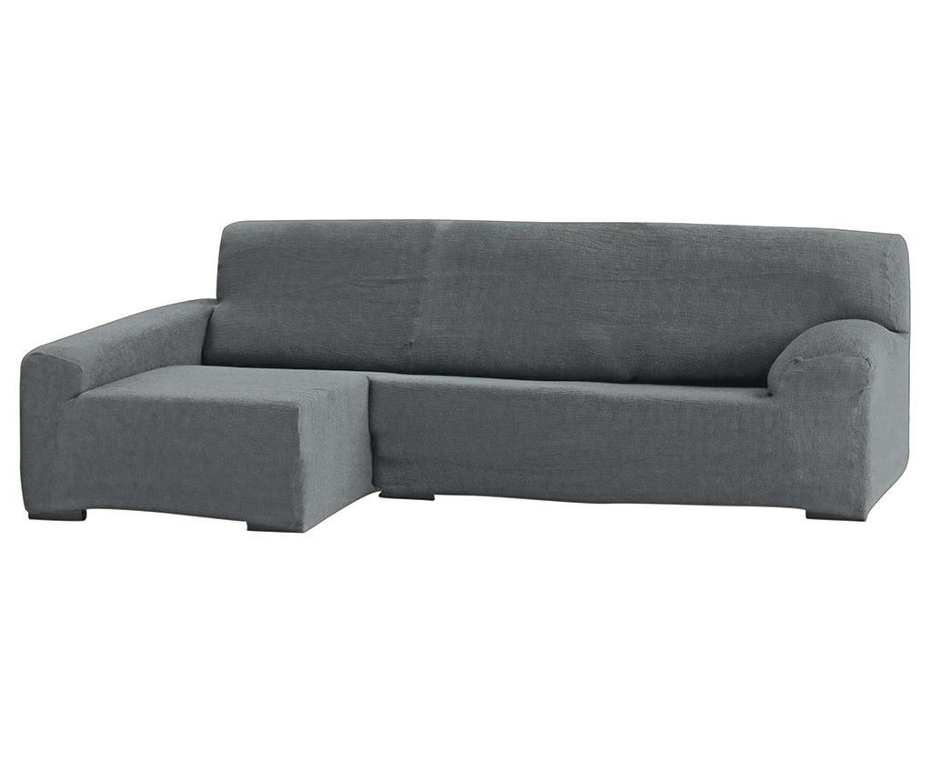 Teide Grey Elasztikus huzat baloldali sarokkanapéra