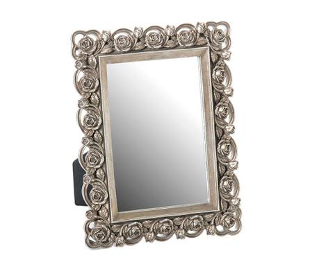 Namizno ogledalo Lottie Silver